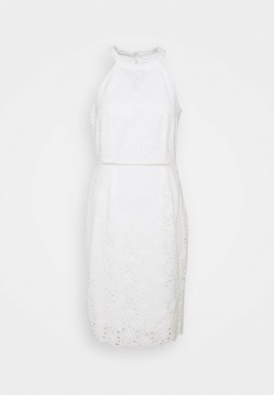 VIEMMIE HALTERNECK DRESS - Vestido de cóctel - cloud dancer