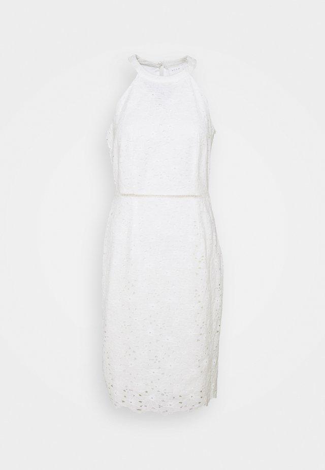 VIEMMIE HALTERNECK DRESS - Cocktail dress / Party dress - cloud dancer