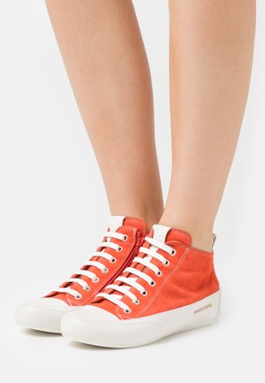 MID - High-top trainers - rosso/panna