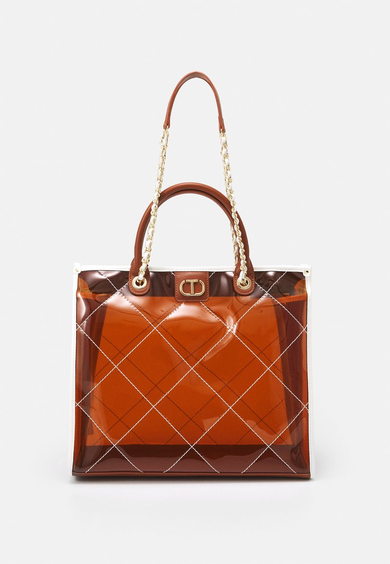 TWINSET - Tote bag - cuoio