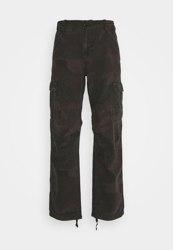 AVIATION PANT COLUMBIA - Cargo trousers - provence rinsed