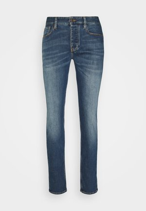POCKETS PANT - Jean slim - blue denim