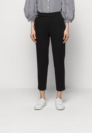 MODERN PONTE PANT - Trousers - polo black
