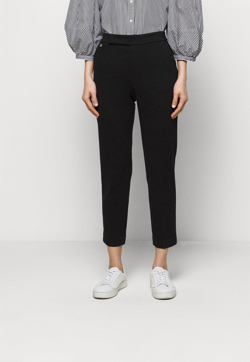 Lauren Ralph Lauren - MODERN PONTE PANT - Trousers - polo black