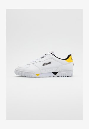 TANKER - Sneakers - white/black/yellow/grey