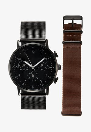 Reloj - black/brown