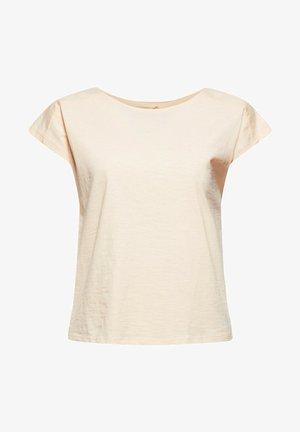 BACKTIE - T-shirt basique - nude