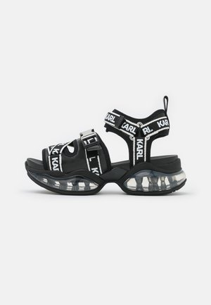 ORBITAL RUN  - Platform sandals - black