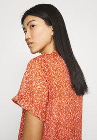 Saint Tropez - XELINASZ DRESS - Maxi dress - red orange puff sky - 3