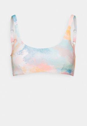 REMOVABLE PAD - Bikini top - multicolor