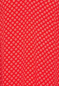 Tommy Hilfiger - ALYA V-NECK BLOUSE - Blouse - oxidised orange - 2
