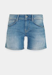 SIOUXIE - Denim shorts - blue denim