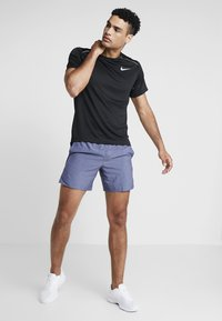 Nike Performance - CHALLENGER SHORT - Sports shorts - blue void/heather/reflective silver - 1