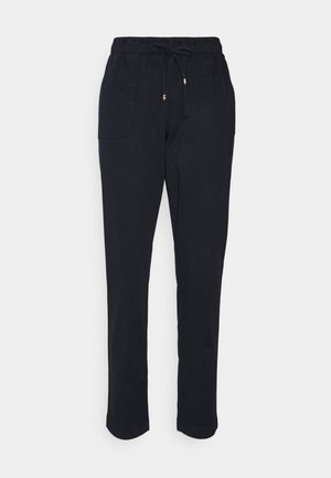 SOFT PULL ON TAPERED PANT - Trousers - blue