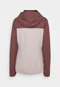 Volcom - BOLT INS JACKET - Snowboardová bunda - faded pink - 1