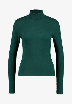 VERENA TURTLENECK - Long sleeved top - dark green