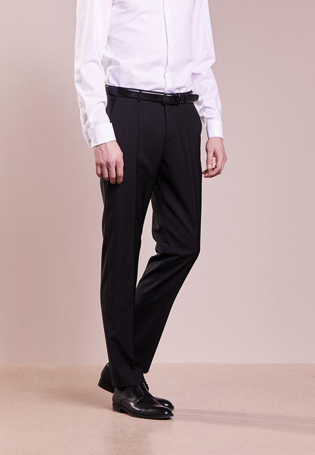 SIMMONS - Suit trousers - black