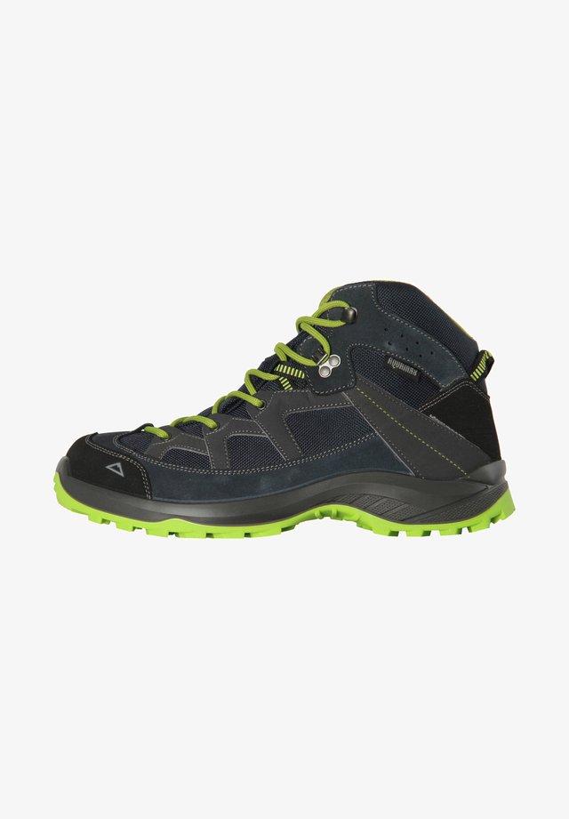 DISCOVER MID AQX M - Hiking shoes - blau / grün (954)
