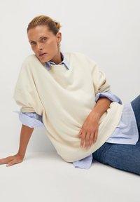 Mango - TARIFA - Sweatshirt - open beige - 4