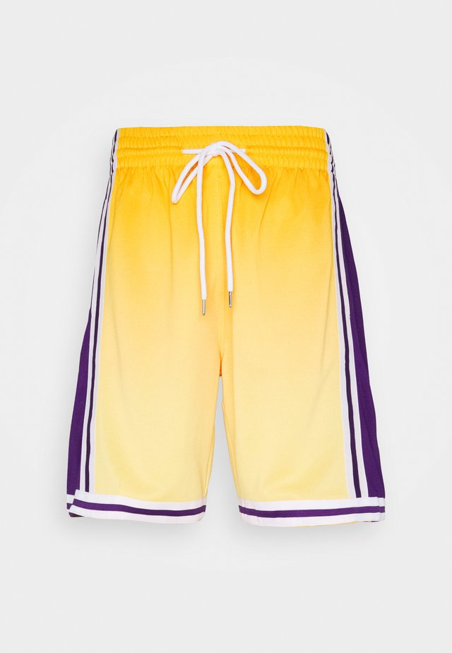 LOS ANGELES LAKERS NBA FADED SWINGMAN SHORTS - Squadra - light gold