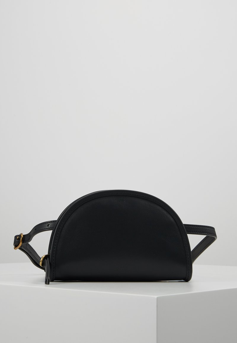 Polo Ralph Lauren - SMOOTH BLEECKER MINI - Bum bag - black