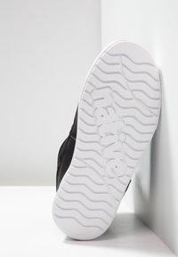 Native - CHAMONIX - Lace-up ankle boots - jiffy black/shell white - 4