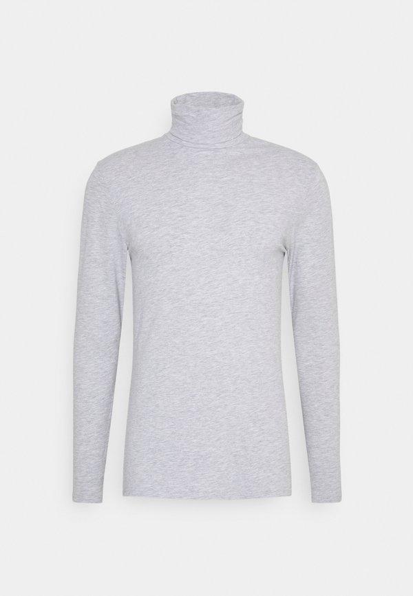 Pier One Bluzka z długim rękawem - mottled grey/szary melanż Odzież Męska GKEZ