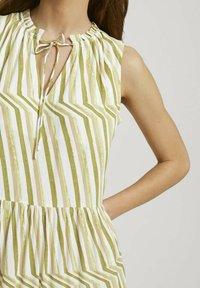 TOM TAILOR - Day dress - green watercolor stripe - 3