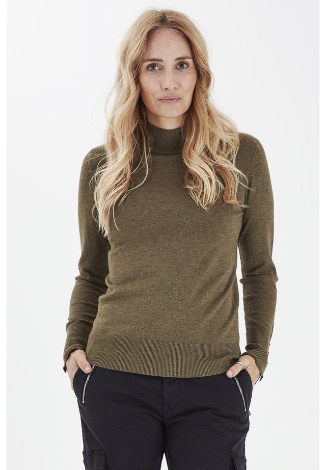 Pullover - stone gray melange