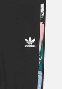 adidas Originals - Leggings - Trousers - black/haze coral/multicolor - 2