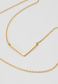 Orelia - CLEAN V NECKLACE - Collar - pale gold-coloured - 3