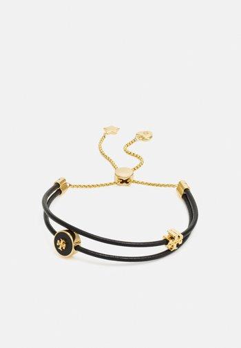 KIRA SLIDER BRACELET - Armband - gold-coloured/black
