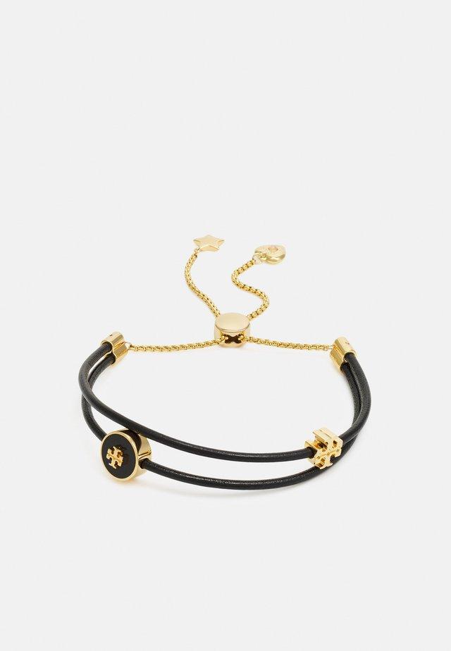 KIRA SLIDER BRACELET - Bracelet - gold-coloured/black