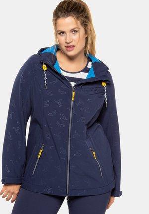 Soft shell jacket - dunkelblau