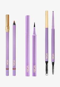 NIQA COSMETICS - NIQA GLAMOUR SET - Makeup set - schwarz - 0