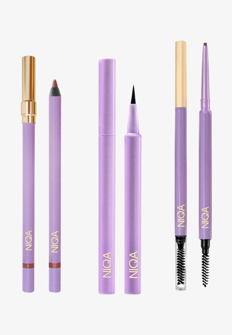 NIQA COSMETICS - NIQA GLAMOUR SET - Makeup set - schwarz