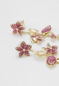 Swarovski - TROPICAL LONG FLOWER - Earrings - gold-coloured - 4