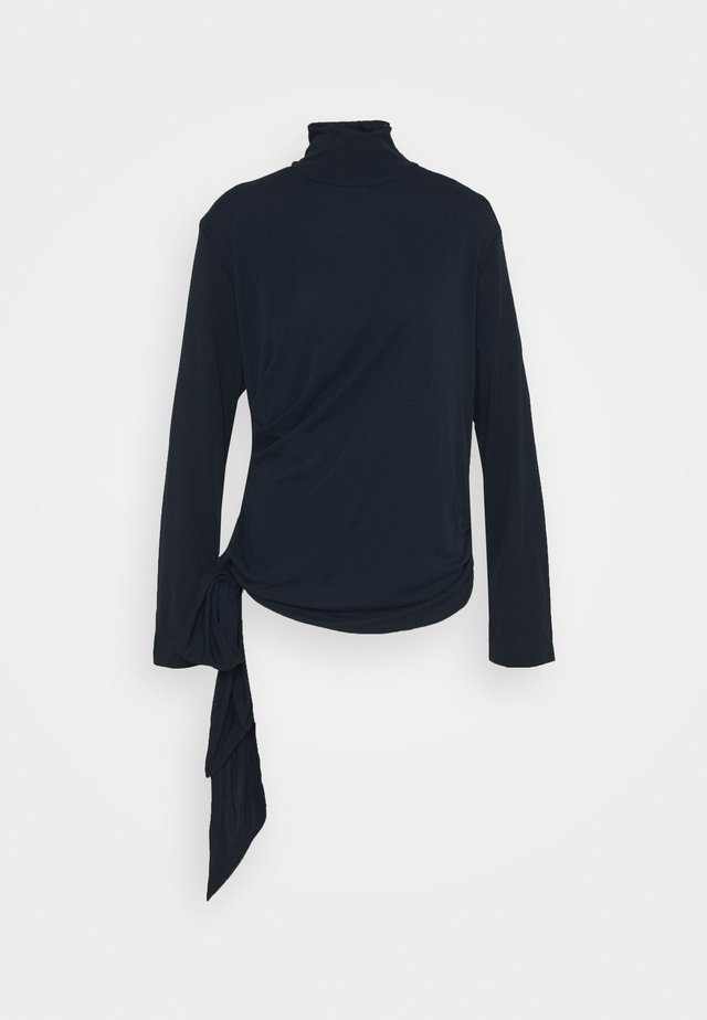 CARISI BLOUSE - Bluser - navy