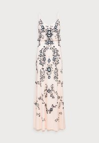 Adrianna Papell - BEADED BLOUSON GOWN - Suknia balowa - pale pink - 4