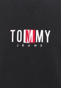 Tommy Jeans - TIMELESS CREW UNISEX - Collegepaita - black - 6