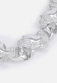 Urban Classics - PRAY HANDS BRACELET UNISEX - Bracelet - silver-coloured - 2