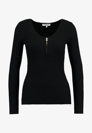 MALIKO - Stickad tröja - noir