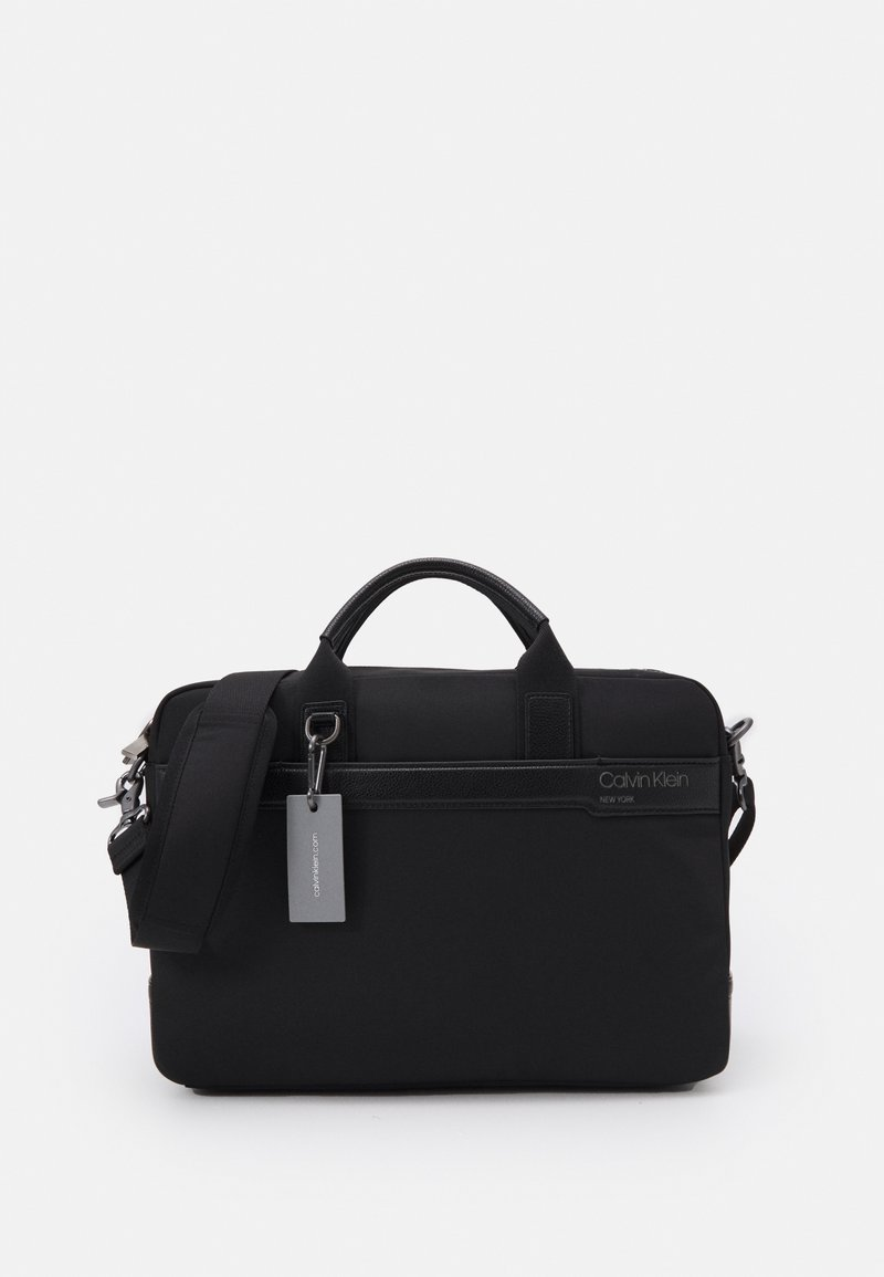 Calvin Klein - LAPTOP BAG UNISEX - Briefcase - black