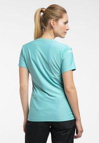 Haglöfs - L.I.M TECH TEE - Print T-shirt - glacier green - 1
