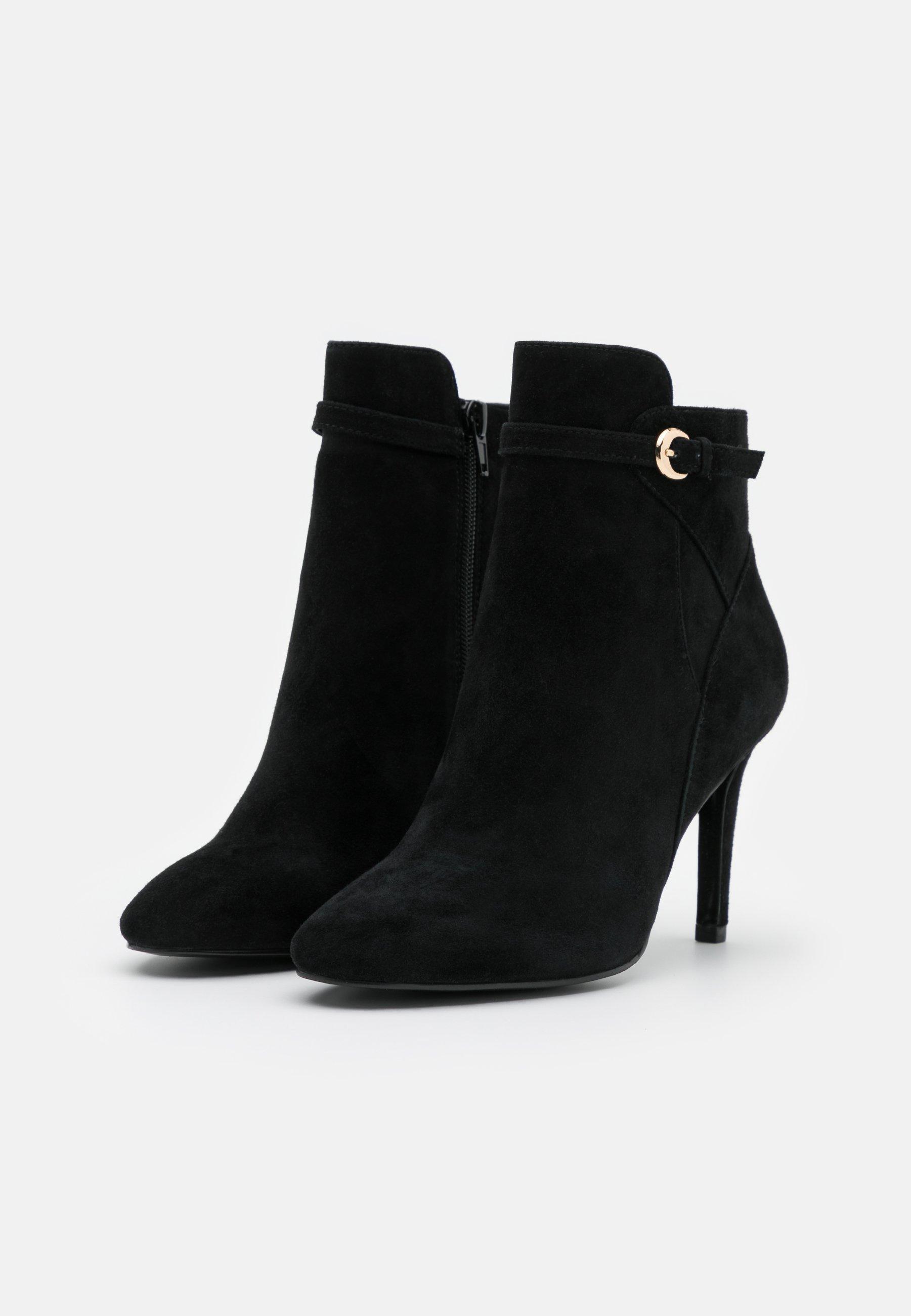 Minelli High Heel Stiefelette noir/schwarz