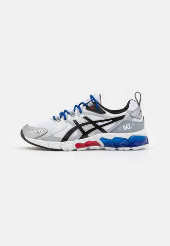 GEL QUANTUM 180 - Neutrální běžecké boty - white/pure silver