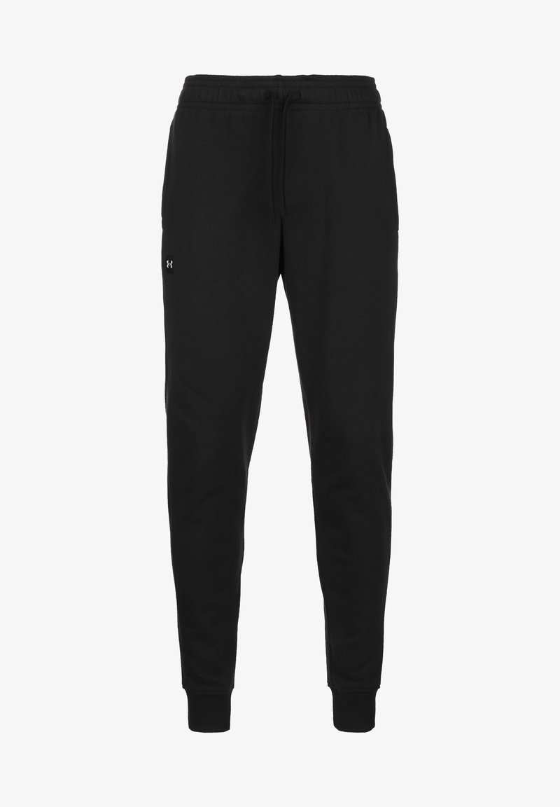 Under Armour - RIVAL - Tracksuit bottoms - black