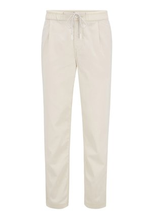 SYMOON - Trousers - light beige