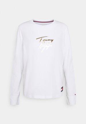 HOLIDAY TEE - Maglia del pigiama - white