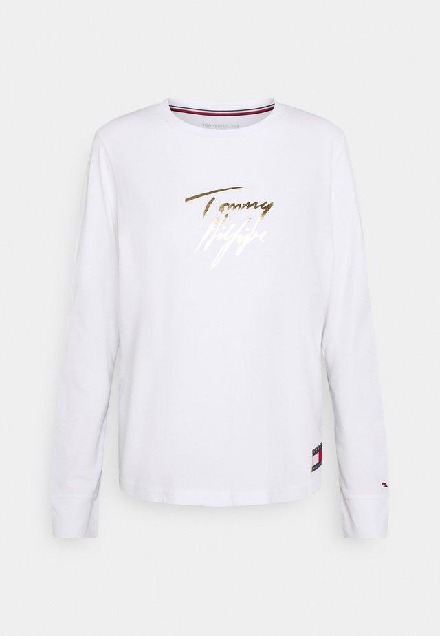 HOLIDAY TEE - Pyjamashirt - white